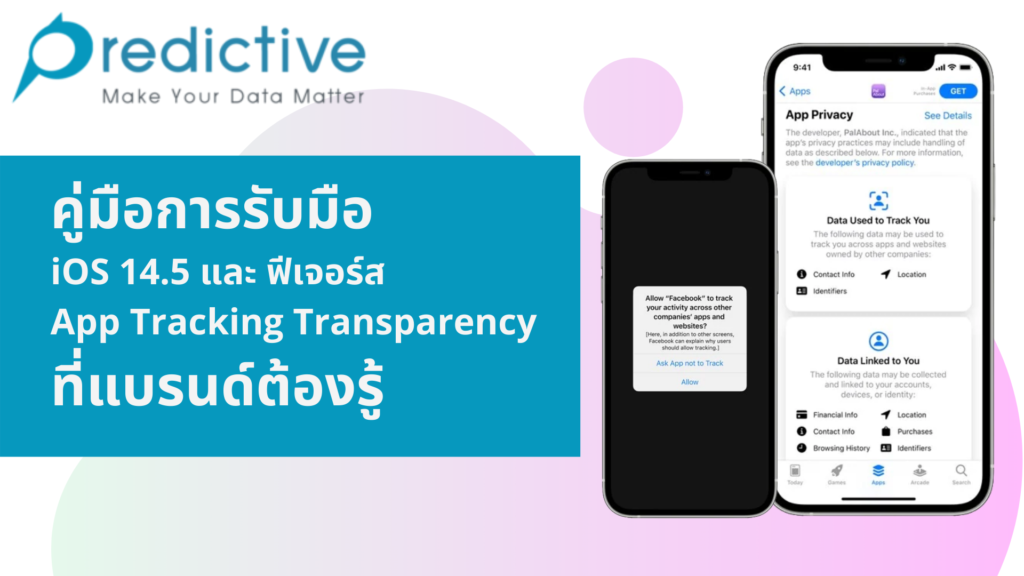 iOS 14.5 และ App Tracking Transparency